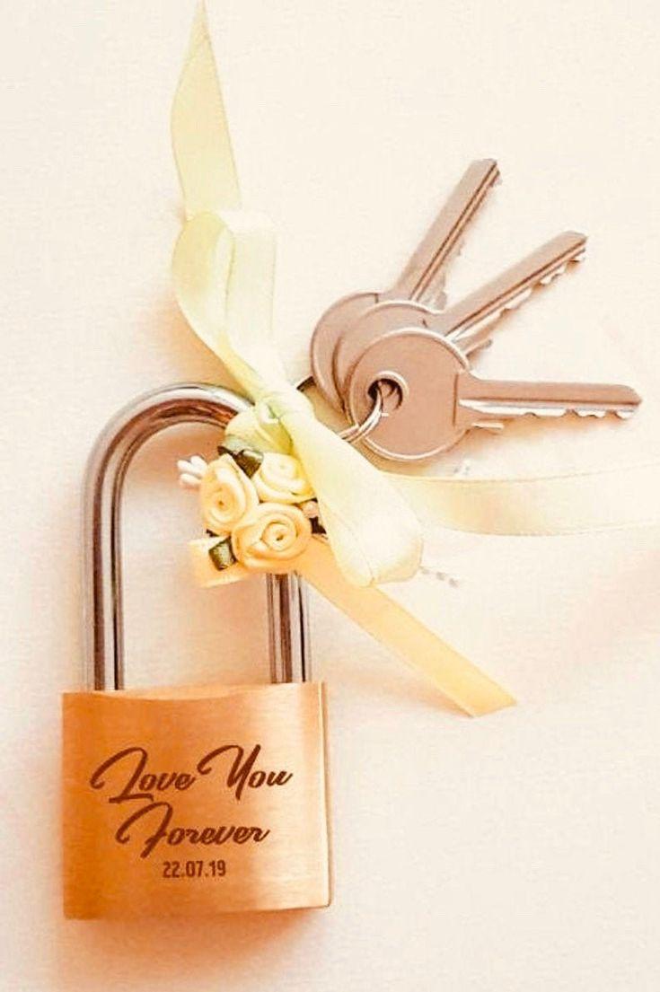 Custom personalized padlock engraved padlock love lock