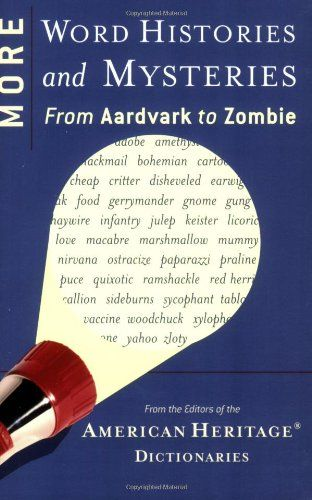 More Word Histories and Mysteries: From Aardvark to Zombie @ niftywarehouse.com #NiftyWarehouse #Zombie #Horror #Zombies #Halloween
