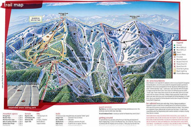 208009 Trailmap Jpg 1000 667 Ski Trails Ski Destination Trail Maps