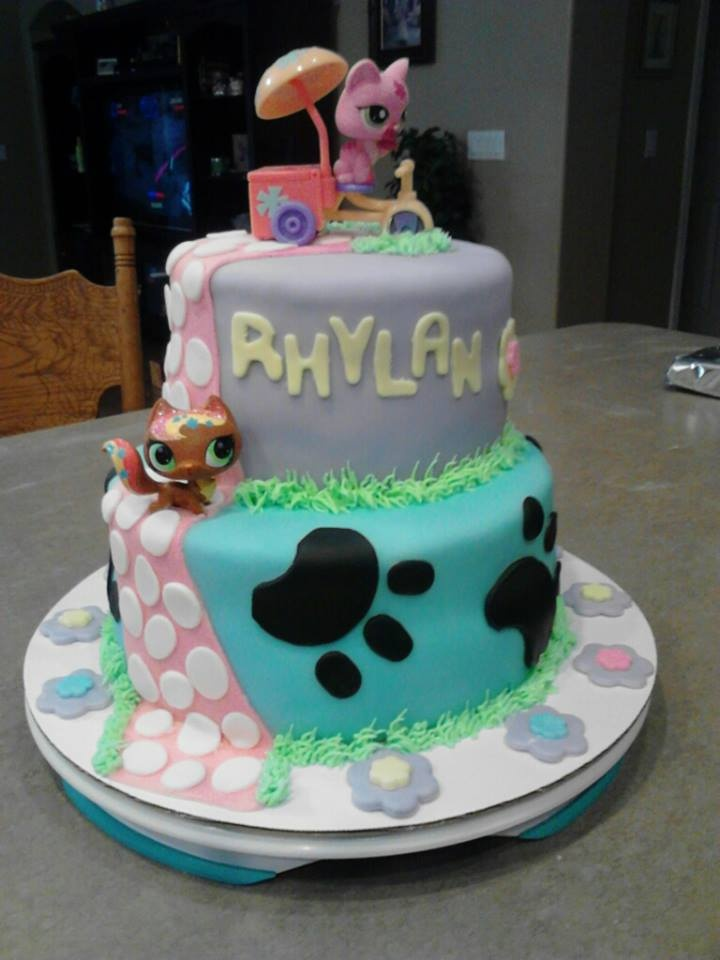 littlest petshop cake