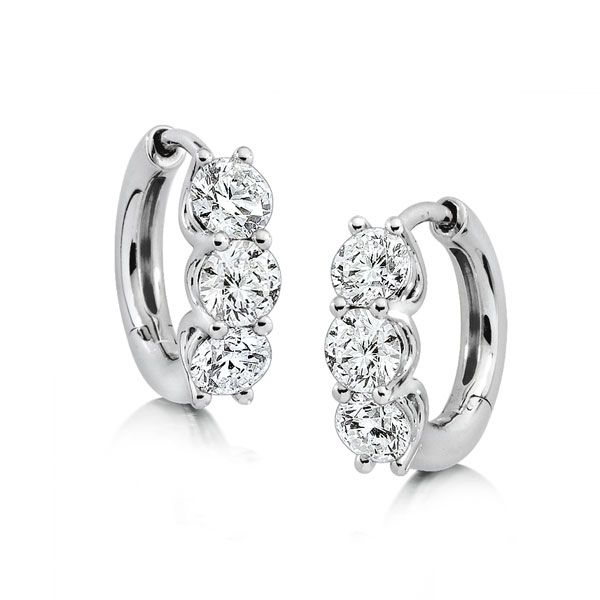 Cool Off From The Summer Heat With Ia Canadian Diamond Hoop Earrings Benbridge