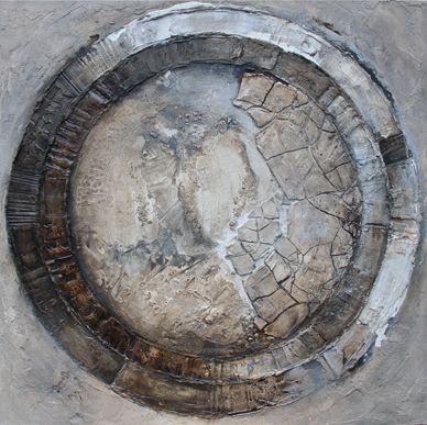 """Schilderij """"Cirkel"""""""