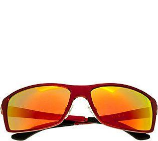 Breed Kaskade Polarized Sunglasses - Red