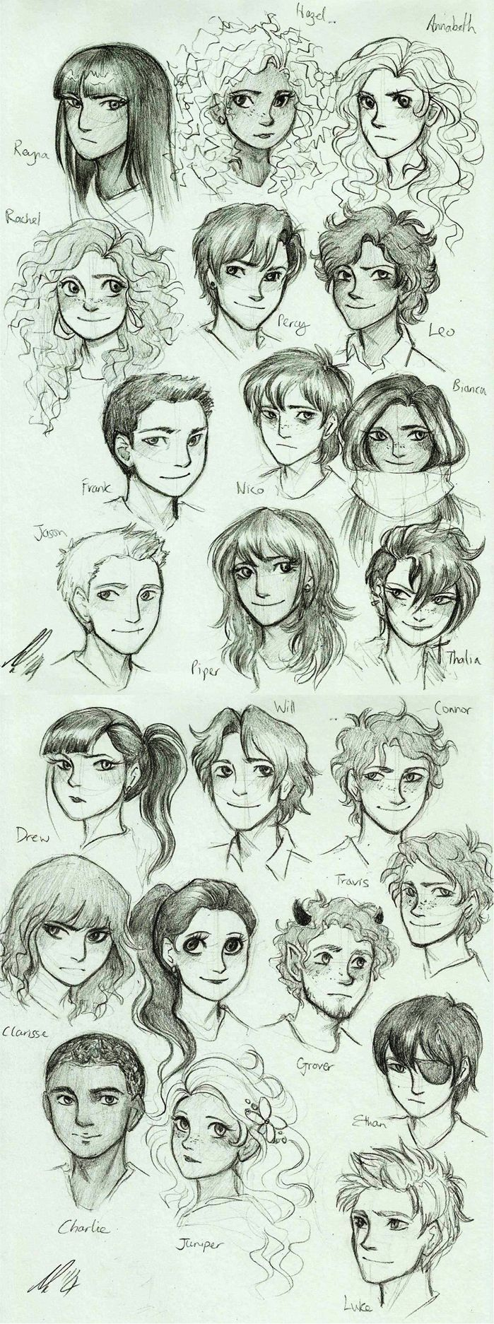 percy jackson drawings heroes of olympus - Cerca con ...