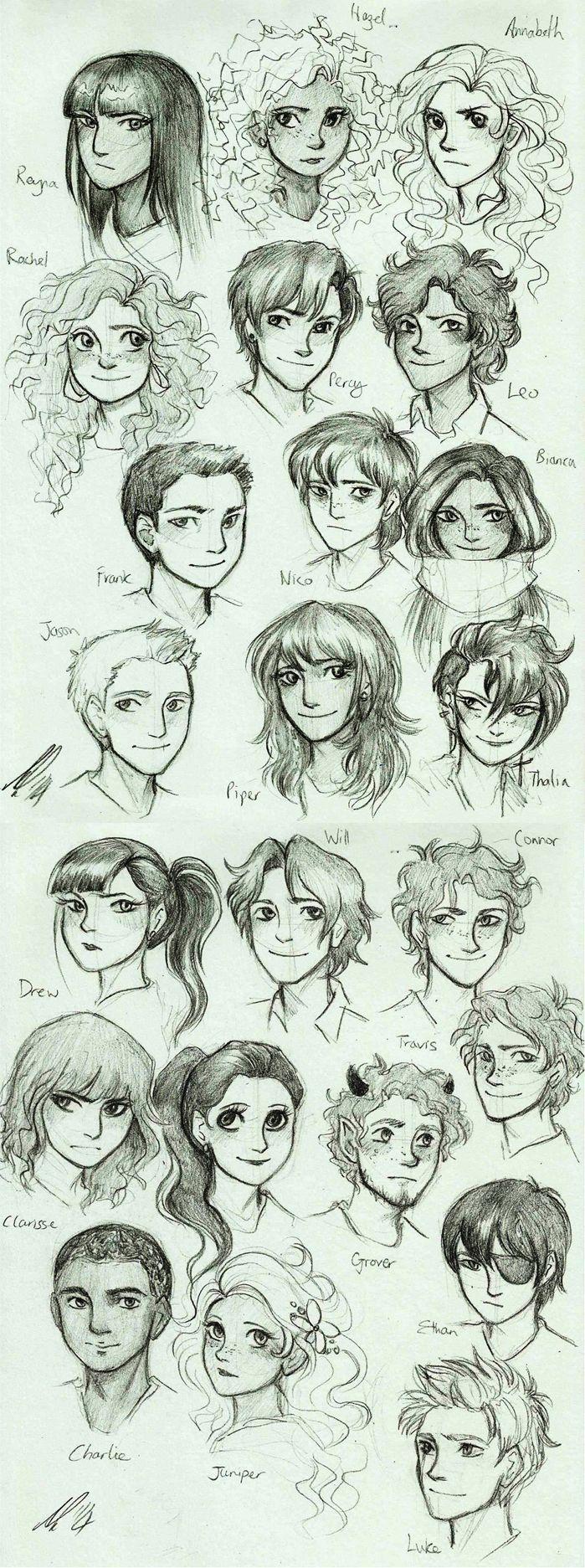 percy jackson drawings heroes of olympus - Cerca con Google