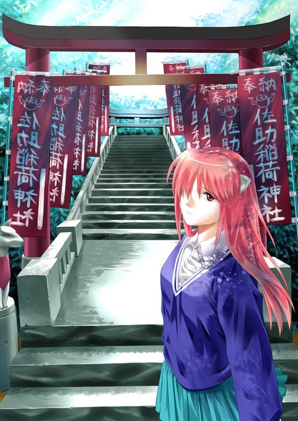 <3 anime & manga #japan elfen lied