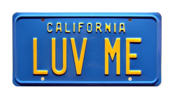 Metal Stamped Screen Accurate Replica Prop License Plate