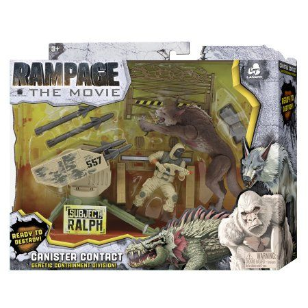 Toys Cool Cartoons Rampage Movie King Kong