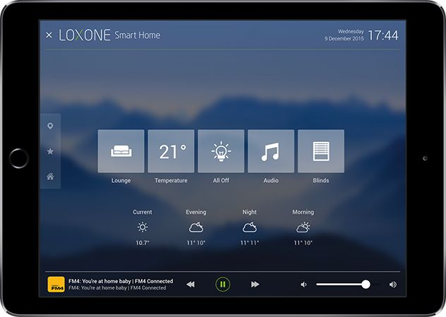 Loxone's home automation app for iPhone and Android - Loxone