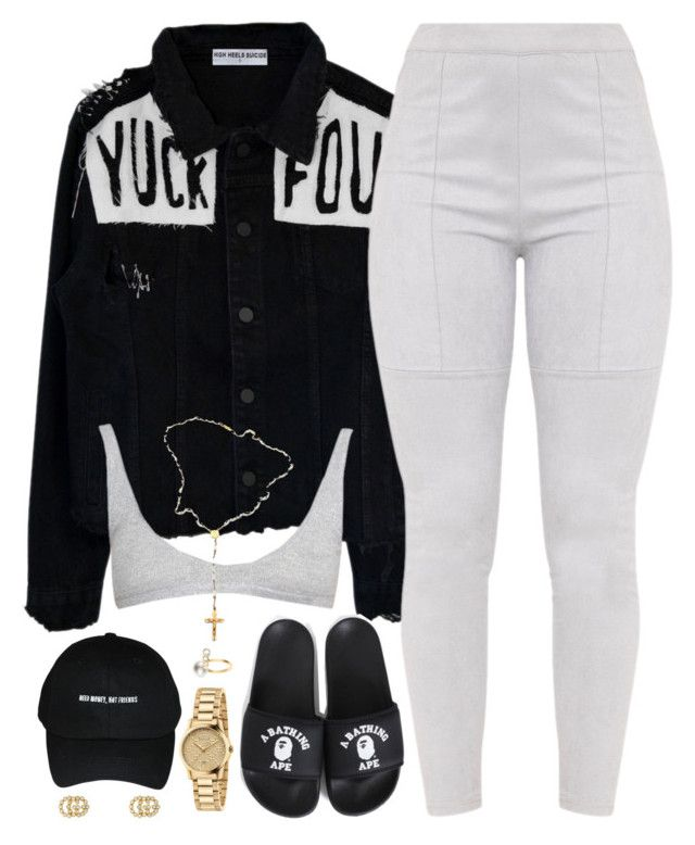 """Trendy"" by oh-aurora ❤ liked on Polyvore featuring Gucci, Child Of Wild and Sophie Bille Brahe"