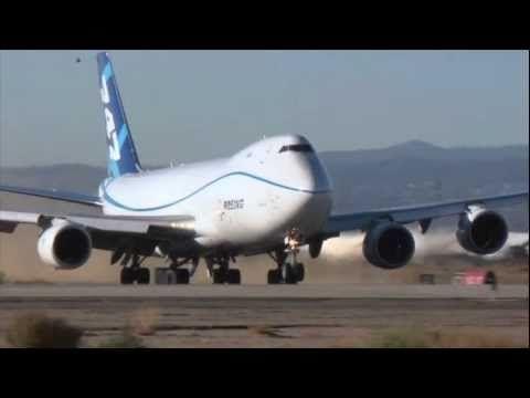 New Boeing 747-8 undergoes extreme testing. Yikes!! Skills.
