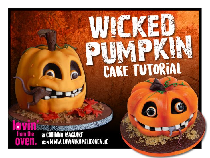 1518 best images about tutorials on pinterest cake for Pumpkin sculpting tutorial