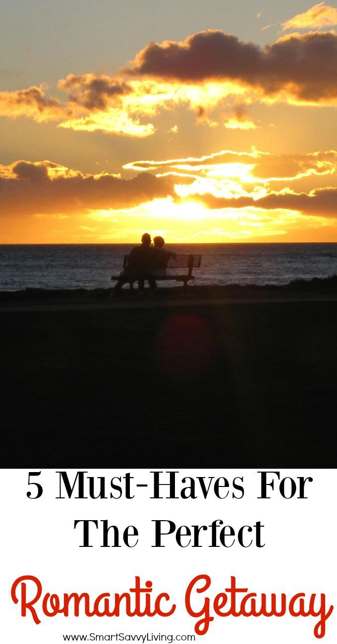 5 Must-Haves For The Perfect Romantic Getaway | In these busy days, being able to get away for a few days as a couple can be quite the luxury. Make the most of it with these 5 must-haves for the perfect romantic getaway!
