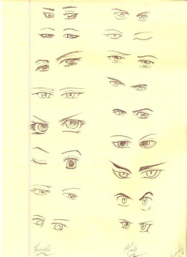 Study - Eyes 2 by jacquelynfisher on deviantART