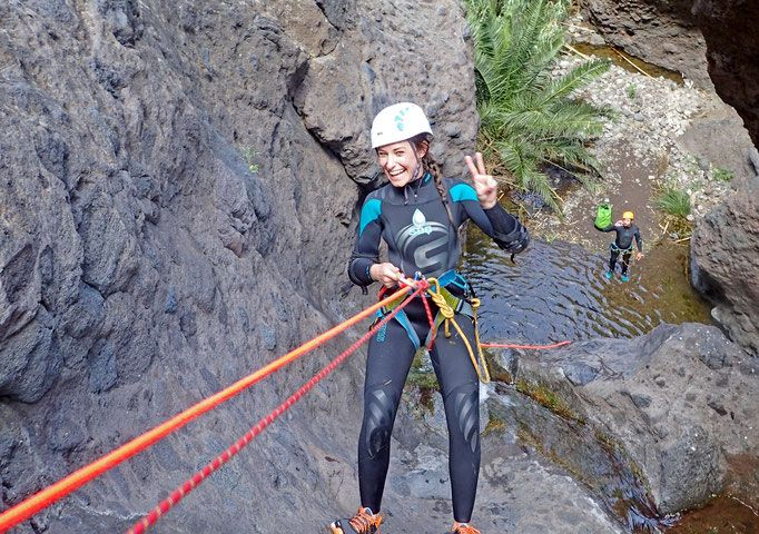 Canyoning, kayaking with dolphins and snorkelling with turtles