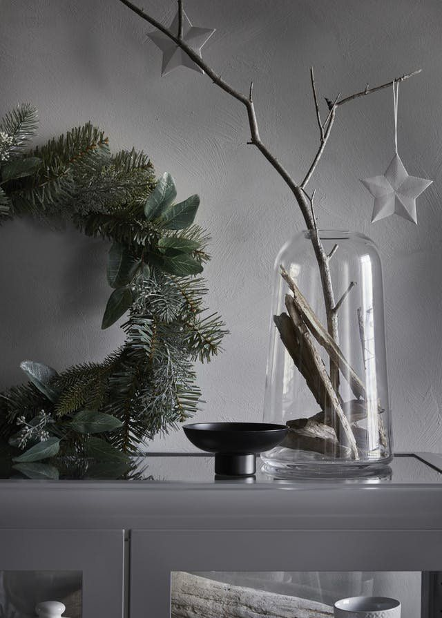 IKEA 2017 Holiday Decorations Tips Christmas Decor | Every year, IKEA puts out a holiday catalog that not only showcases its new products for the season, but also features innovative (and affordable!) ways to dress up your home for the season. We've scoured this year's press materials for ideas you can easily replicate at home. Some are unusual, some are beautiful, and some are just plain smart. Here are 10 of our favorites.