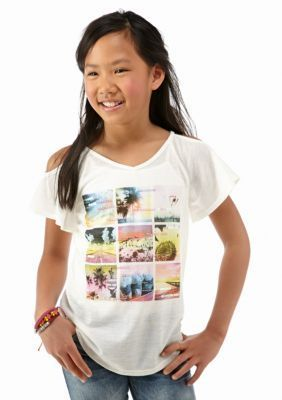 Jessica Simpson  Kallie Beach Pictures Tee Girls 7-16