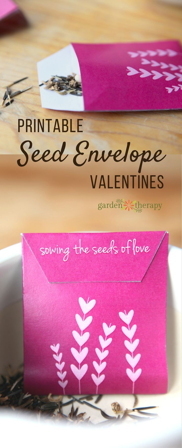 Sowing The Seeds Of Love With Seed Envelope Valentines