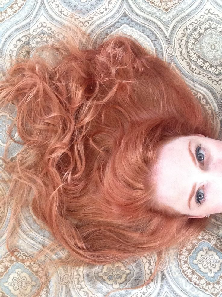 Hair Color New Penny Copper Formulas On Natural Level 7 1