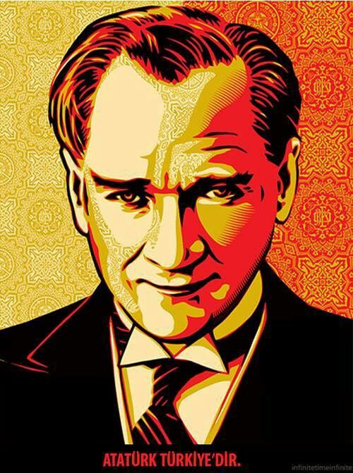 ATATÜRK Illustration, Poster, Sanat