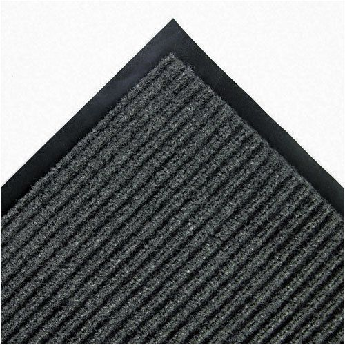 Crown NR0046GY - Needle Rib Wipe & Scrape Mat, Polypropylene, 48 x 72, Gray by Crown. $74.18. Keep those unwanted guestsdirt and moistureoff the invite list by using these Needle Rib wiper/scraper mats. The rugged grooves and ribbed polypropylene needle fibers trap and hide dirt before it enters your home or office. Features wear-resistant and color-fast design, made for light to medium traffic areas. Beveled edges reduce the risk of tripping, while the vinyl backing helps keep ...