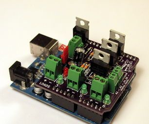 Building and Using a MOSFET Arduino Shield
