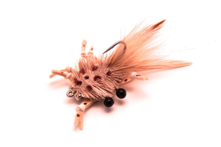Custom Saltwater Flies @ www.saltyflytying.com - McCrab Fly, Crab Patterns, Saltwater Flies for  Bonefish, Permit, Redfish, Drew Chicone