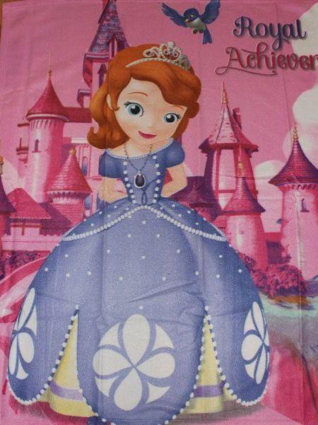 Disney Deka detská Fleece 120x150 cm Princezná Sofia | grasshopper.sk