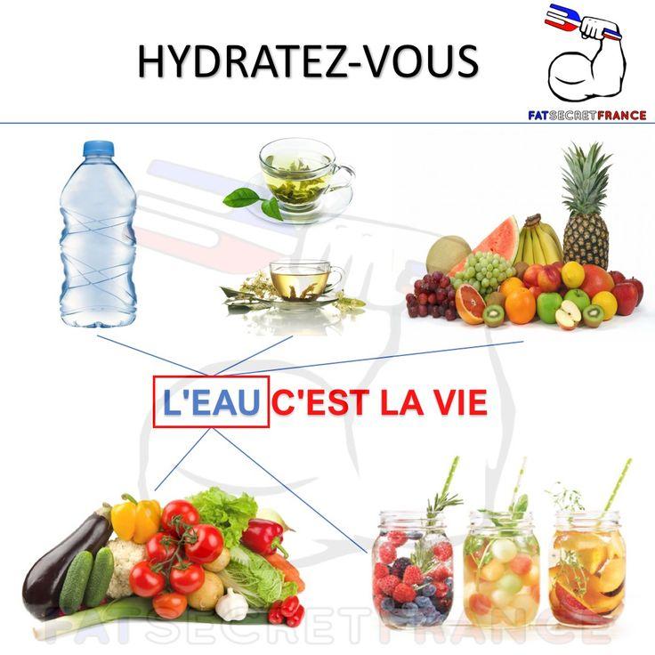 Pourquoi boire de l'eau ? Le corps est composé de 60 % à