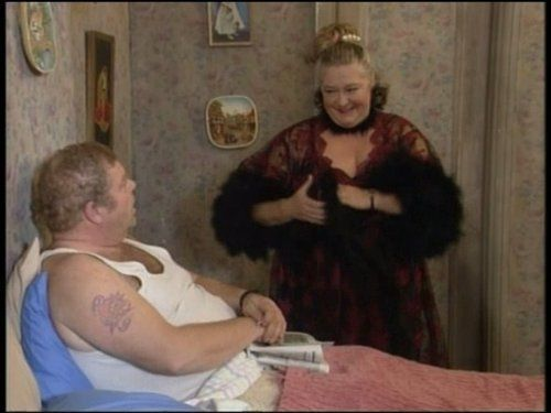 Keeping Up Appearances:  Daisy trying to put a spark in Onslow