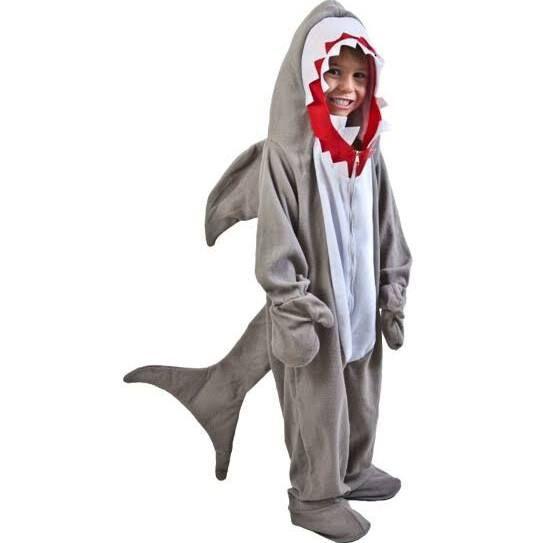kids shark costume pattern