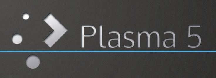 KDE Plasma 5 Desktop.