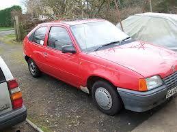 Vauxhall Astra MkII