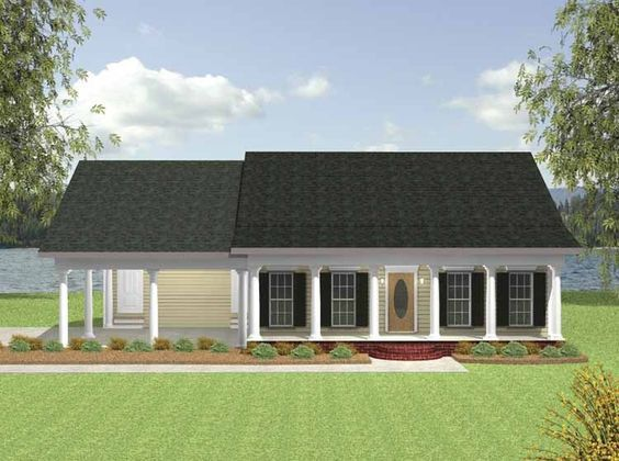 Cottage House Plan With 1152 Square Feet And 2 Bedrooms From Dream Home  Source | House