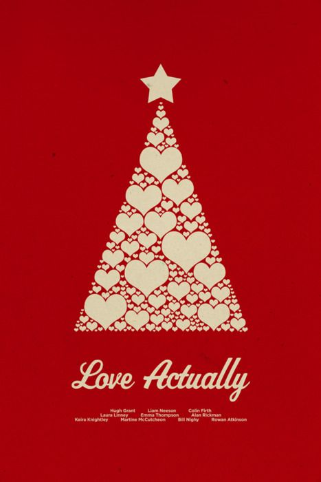 Love Actually print by Chay Lazaro. I'm partial to the movie, so maybe I'm biased. It's a simple idea, well executed.