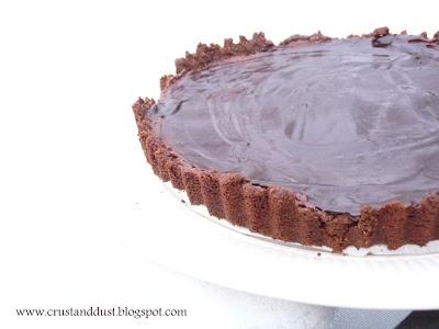 Szybka i prosta tarta czekoladowa
