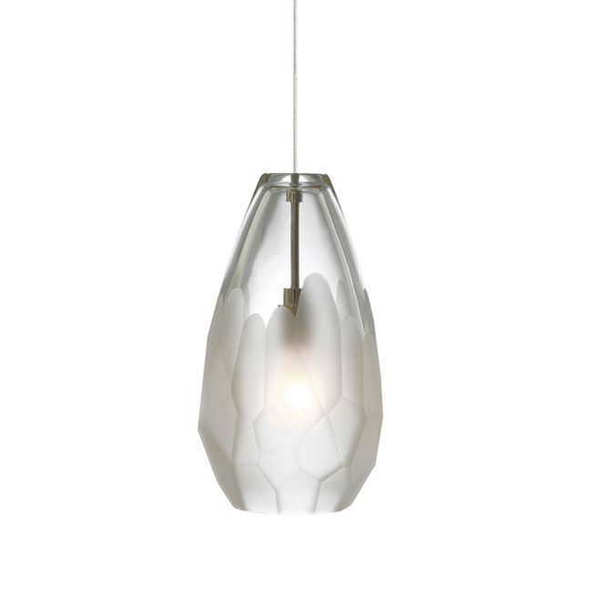 Briolette Monopoint Pendant 4.3W x 7.5H this is nice and small yet not too delicate looking, if you decide to go with pendants, maybe 3