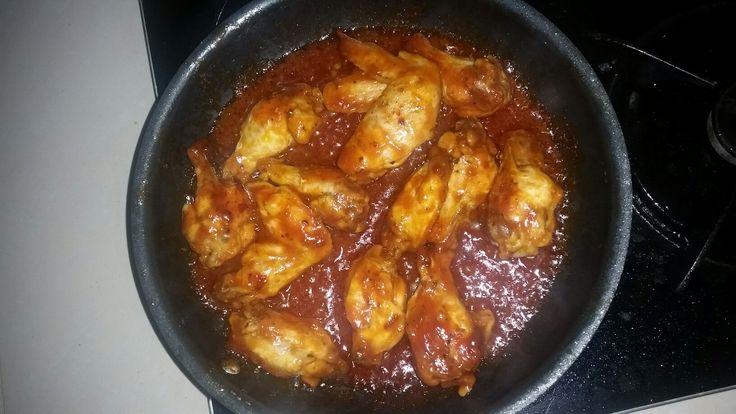 Hot n spicy chiken wings