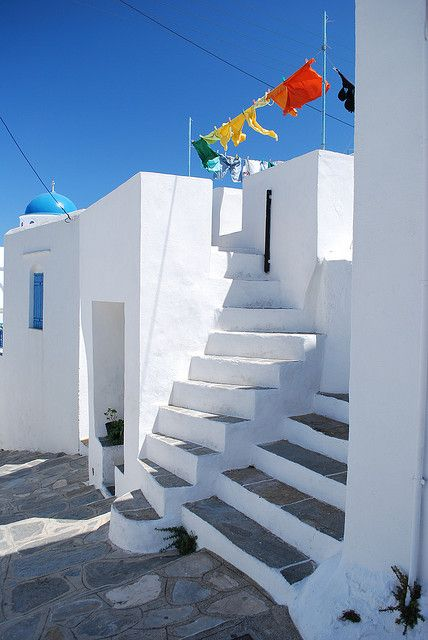 Sifnos, Apollonia by polluxe75