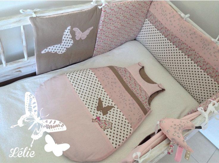 25 best ideas about tour de lit on pinterest bebe bebe bebe and cloud pillow - Tour de lit pour bebe fille ...
