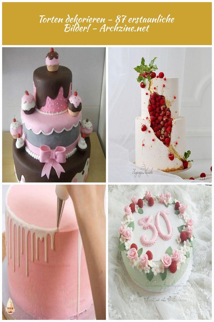 Kuchen dekorieren – 87 tolle Bilder! Kuchen dekorieren Kuchen dekorieren …   – haar