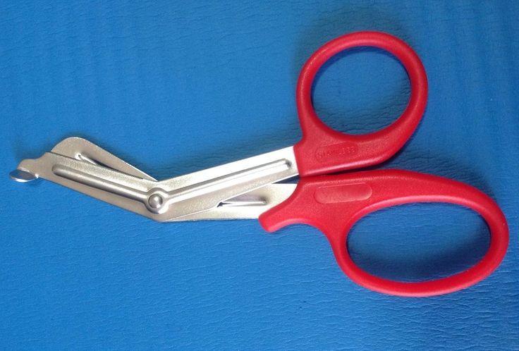 Utility Scissors FIRST AID SCISSORS UNIVERSAL 19cm RED