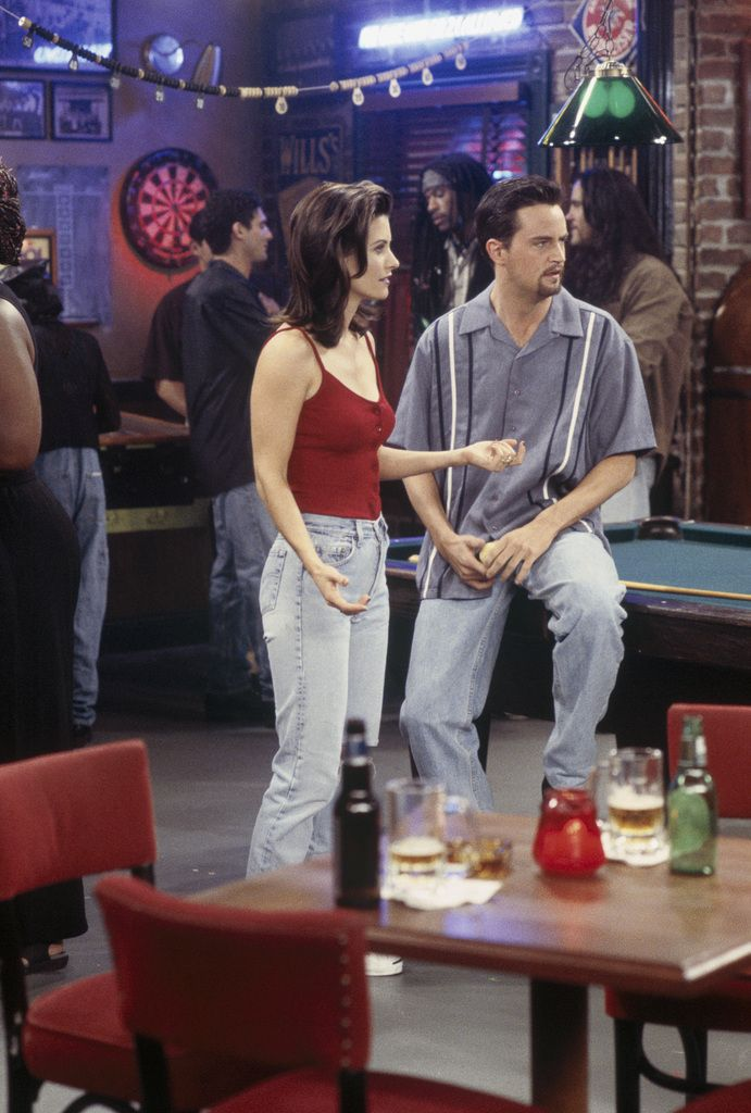 Friends ~ Episode Pics ~ Season 3, Episode 6: The One with the Flashback #amusementphile