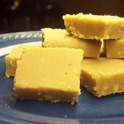 """""""Sucre la creme is a traditional fudge from the Quebec province of Canada. The ingredients are simple and few, but the result is sweet and delightful! And because this recipe is cooked in the microwave, you're never too far from a quick sugar fix!"""""""