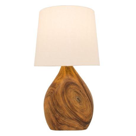 Armidale Table Lamp  Mahogany