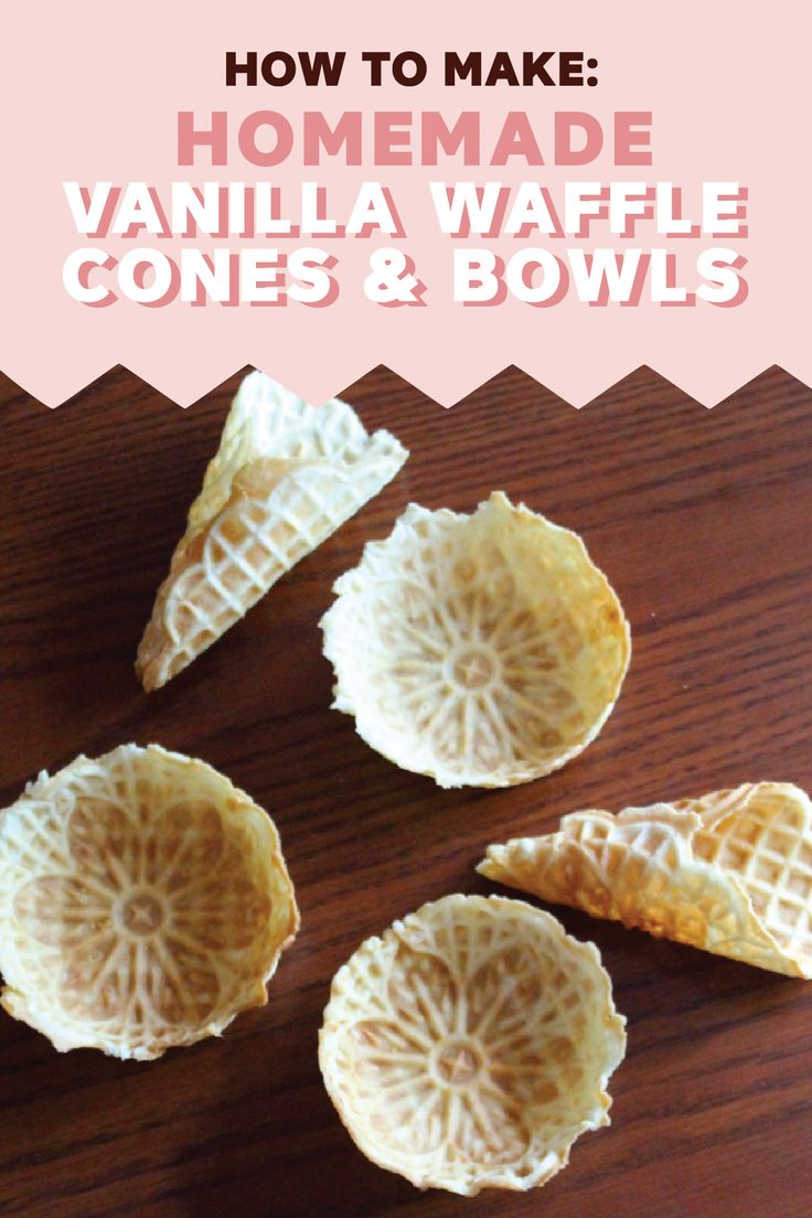 This recipe tutorial for how to make Homemade Vanilla Waffle Cones and Bowls makes it easy to add a fun twist to dessert. Bring out these golden-brown treats for any occasion this spring. Which flavor of Edy's Slow Churned light ice cream will you and your family choose for this delicious dish?