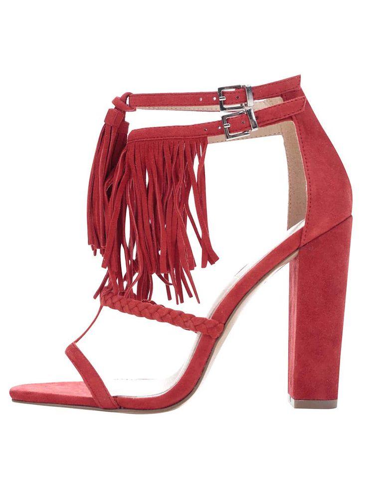 Sandale Miss Selfridge roșii-160