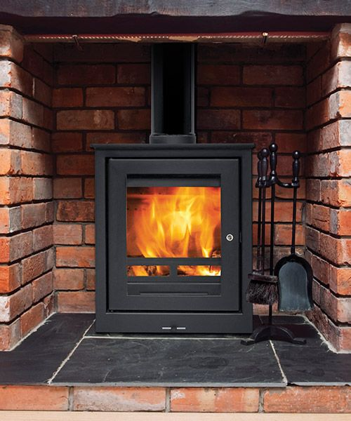 YES!!!! But open to the room behind also. Jetmaster 18f Freestanding Stove
