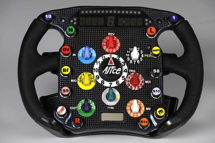 ferrari f1 steering wheels