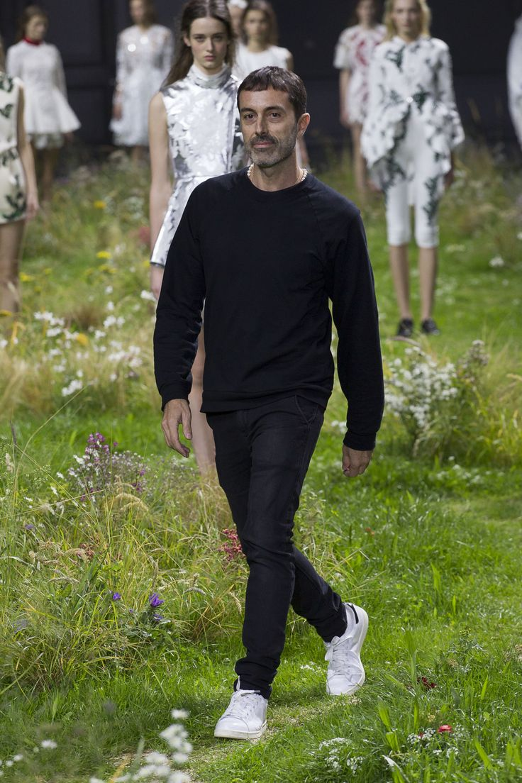 Giambattista Valli, designer of the Moncler Gamme Rouge collection. Relive the show now on http://on.moncler.com/mgrss16 #monclergammerouge #ss16 #pfw